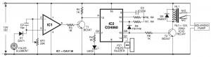 Pyroelectric Fire Alarm System Diagram