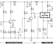 Mic Condenser Amplifier
