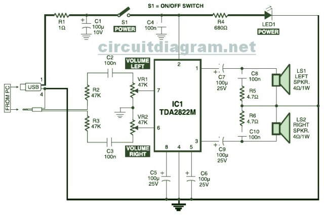 mini usb speaker circuit diagram motorcycle schematic mini usb speaker circuit diagram