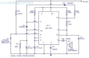 Train Horn Circuit Diagram