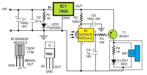 Simple Sensitive Tester for Infrared Remote Control