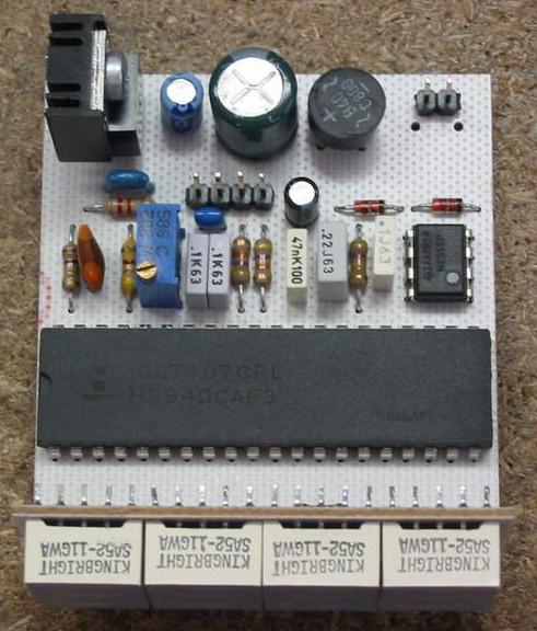digital voltmeter circuit electronic