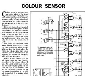 Color Detector Scheme