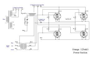 Orange 125MK3 Power Section