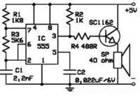 Electronic Rat Repellent Circuit