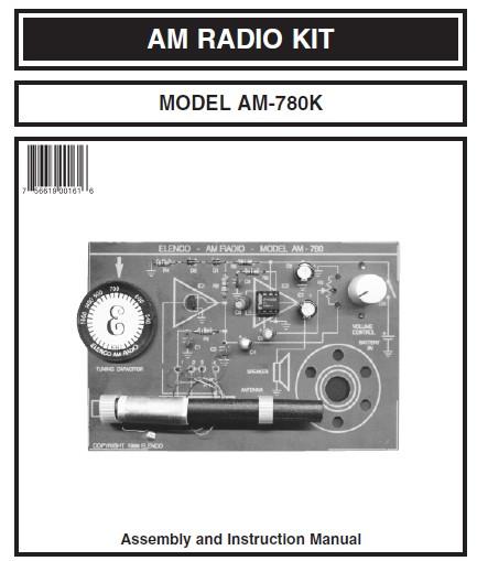 Two Chips AM Radio Kit - Schematic Design