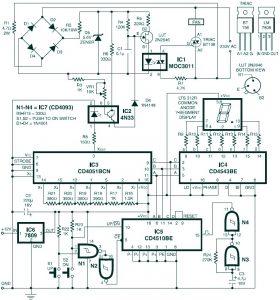 Digital Fan Speed Control Circuit Design