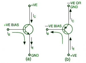 Transistor Current Flow