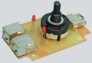 USB Printer Switch 2 Input Ports