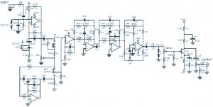 Bass Guitar Preamp Pedal Schematic
