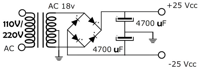 300w rms stereo power amplifier tda7294   schematic  part