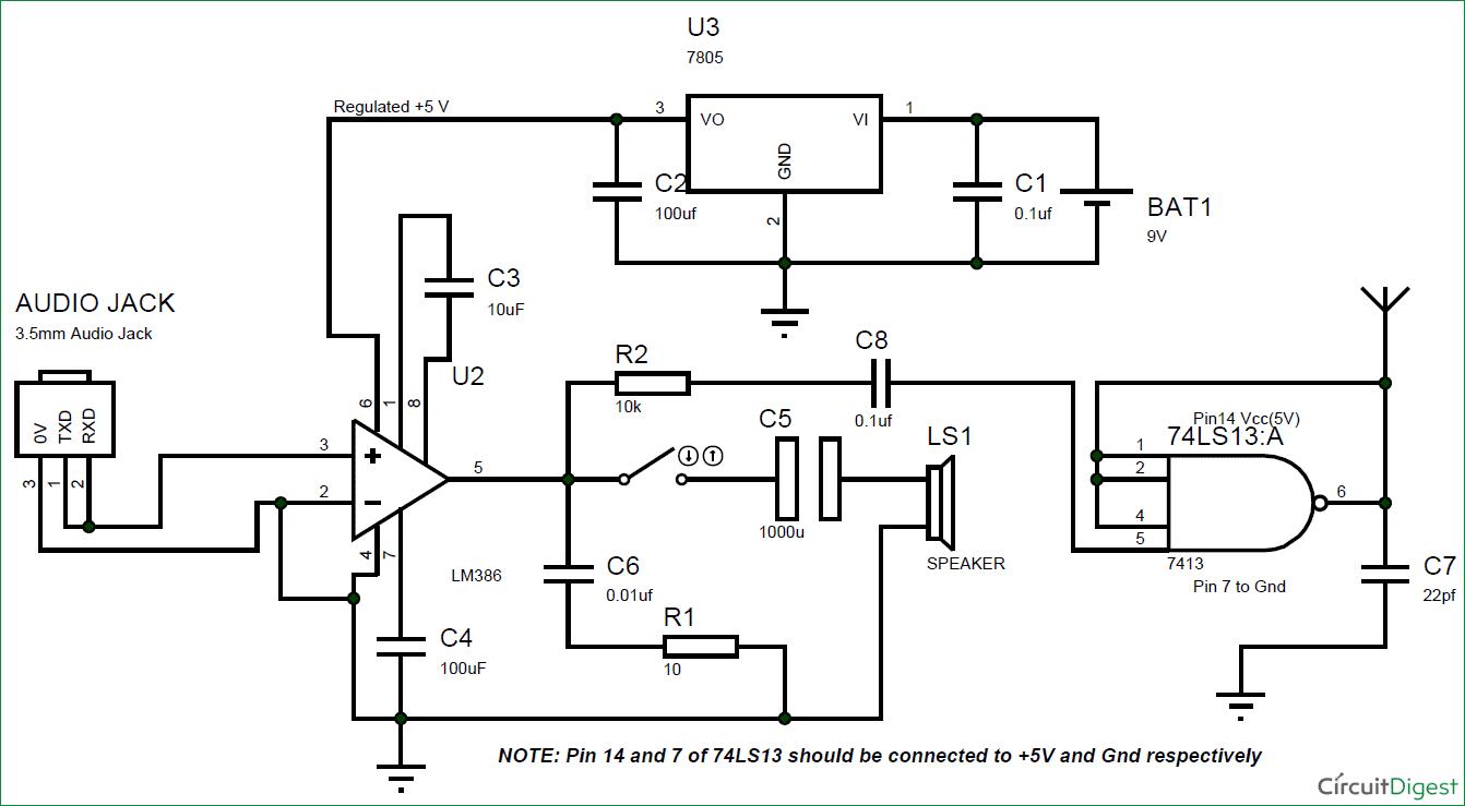 Ta7642 Radio Http Wwwcircuitdiagramorg Simpleamradiocircuit