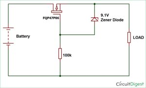 Reverse Polarity Protection Circuit using Diode OR PChannel MOSFET