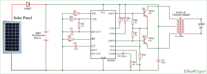 How to make Solar Inverter Circuit