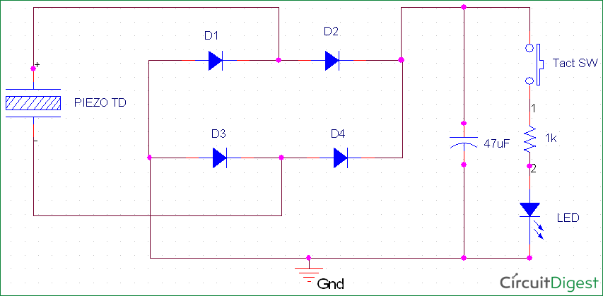 Piezoelectric Transducer Circuit, Working And Applications