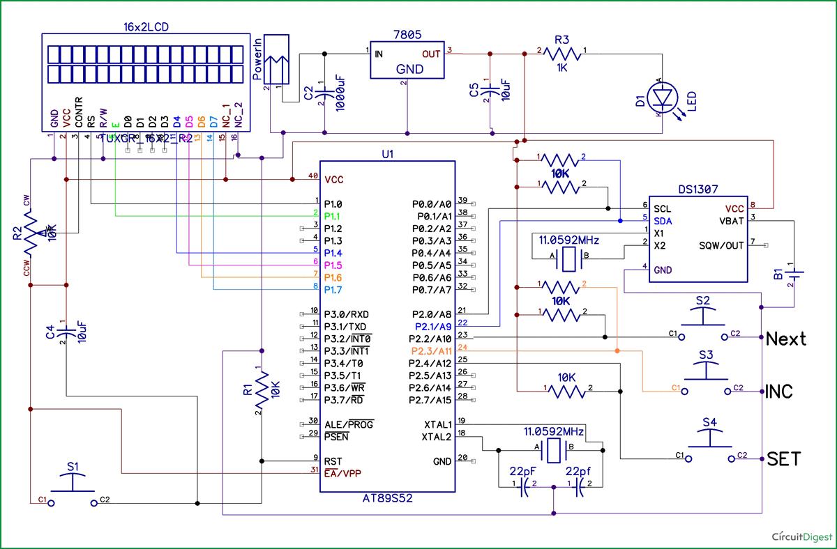 Schematic Stop Start Circuit