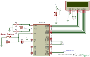 8051 Microcontroller based Frequency Counter