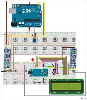 RS485 Serial Communication between Arduino Uno and Arduino Nano