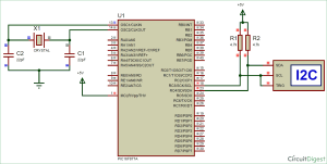 I2C Communication with PIC Microcontroller PIC16F877