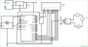 Digital Ammeter Circuit using PIC Microcontroller and ACS712