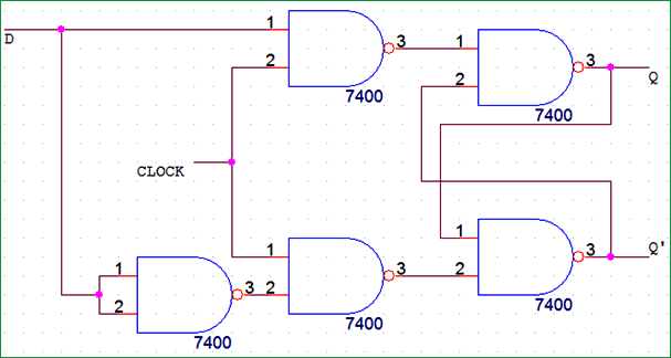 D Flip-Flop Circuit Diagram: Working & Truth Table Explained