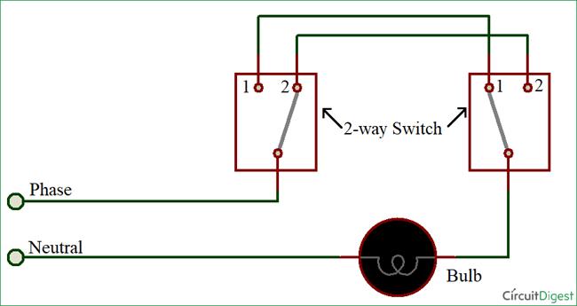 Chuyển đổi 2 chiều bằng phương pháp 2 dây
