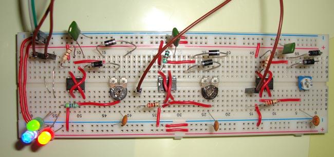 Brightness Light Bulb Circuit