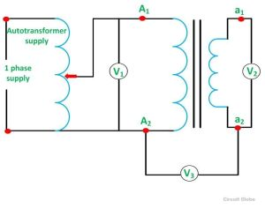 Polarity Test of Transformer  its Circuit Diagram  Circuit Globe