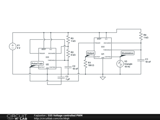 555 Voltage Controlled PWM