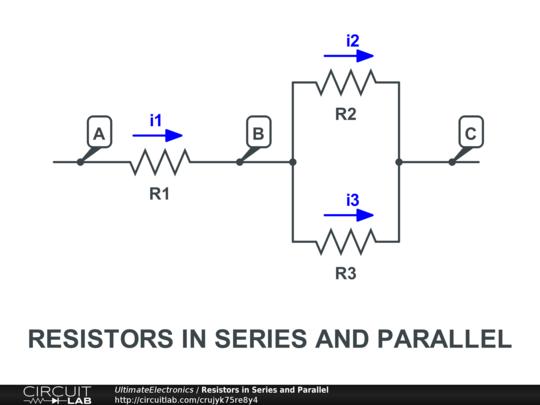 Resistors In Series & Parallel