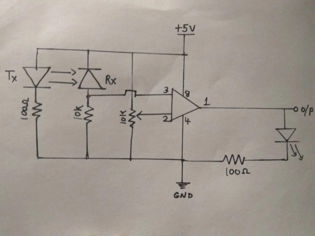 IR Proximity Sensor breadboard connection