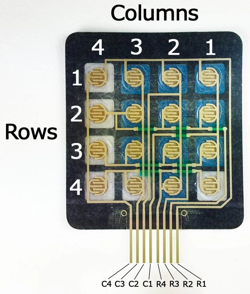 Keypad for Arduino Projects