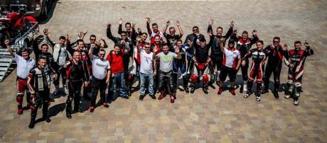 Ducati Owners Club - DOC @ the Dubai Autodrome