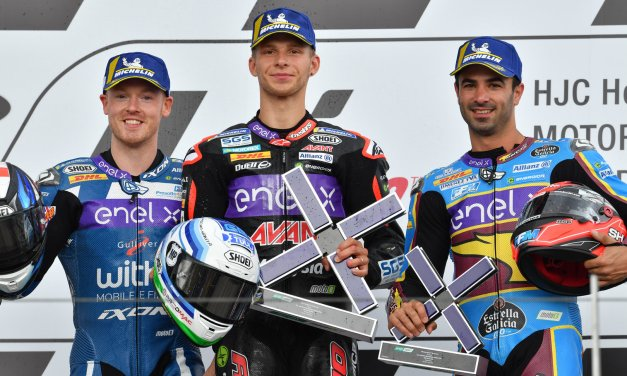 MotoE: Tuuli takes first ever MotoE win after a tight battle at the top