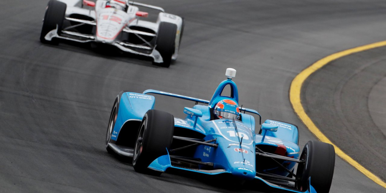 IndyCar: Jones endures tricky weekend after lengthy first lap red flag and damaged car hampers progress