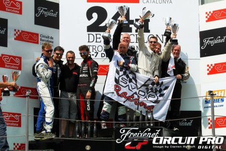 SVDP-Racing take to the top step with their class win in Barcelona