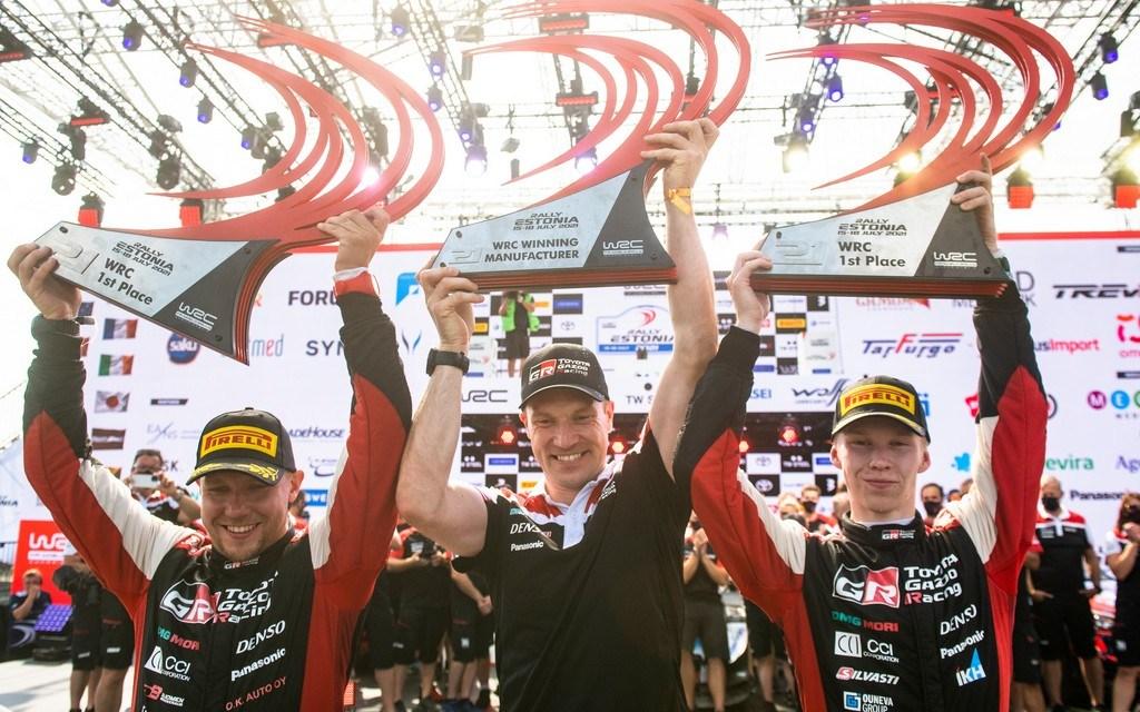 WRC: Rally Estonia sees youngest ever WRC winner as Kalle Rovanperä takes victory
