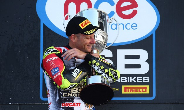 BSB: Shakey Byrne defends Championship title with his sixth win as Haslam crashes out with brake failure
