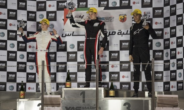 UAE: Aberdein takes first honours at inaugural F4UAE Trophy Event in Abu Dhabi
