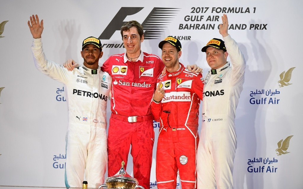 Bahrain: Vettel strikes with brilliant victory in spectacular Bahrain Grand Prix