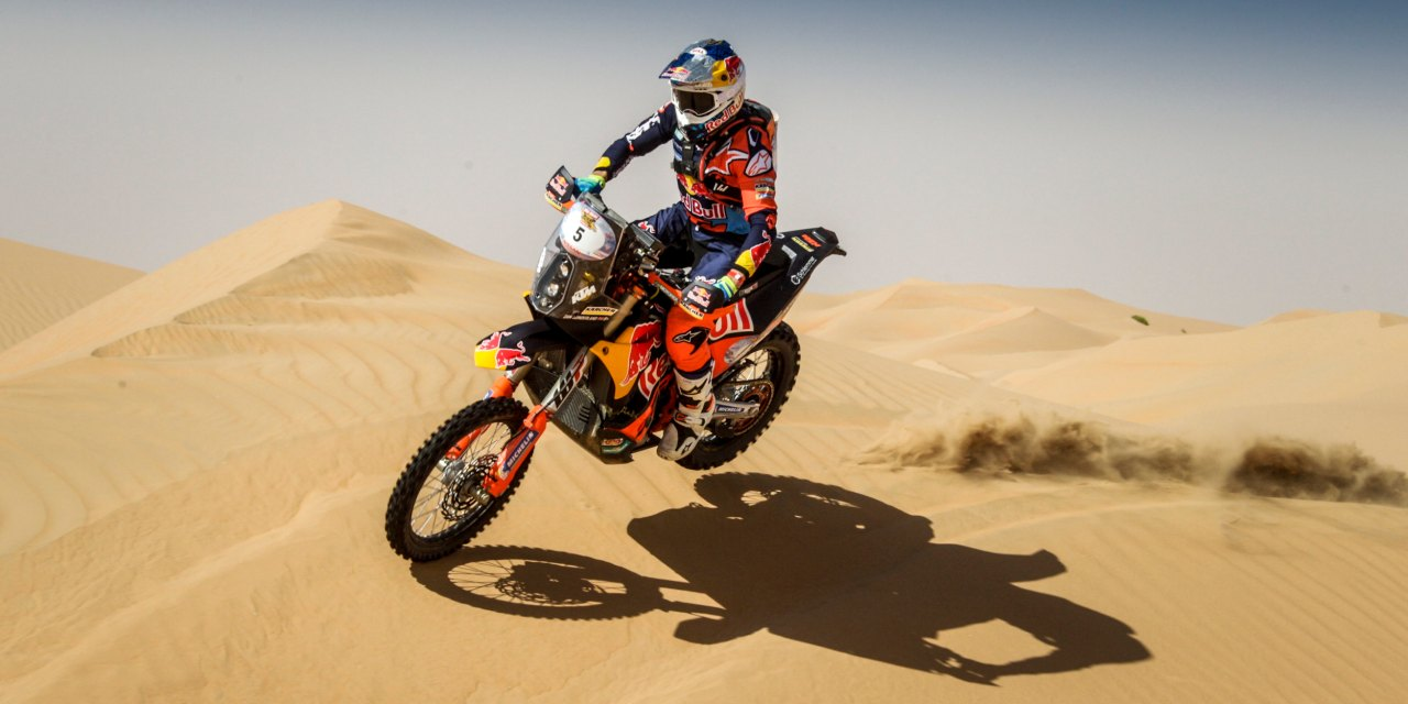 Dubai: Dubai rider Sam Sunderland ready to defend title in Desert Challenge trail
