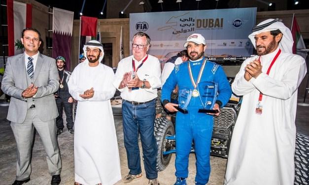 Dubai: Emirati Ahmed Al Maqoodi wins the Dubai International Rally 2016