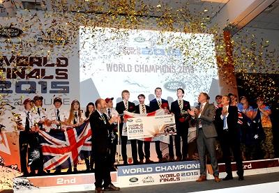 Schools: Vertical Horizon crowned 2015 Land Rover 4×4 in Schools World Champions
