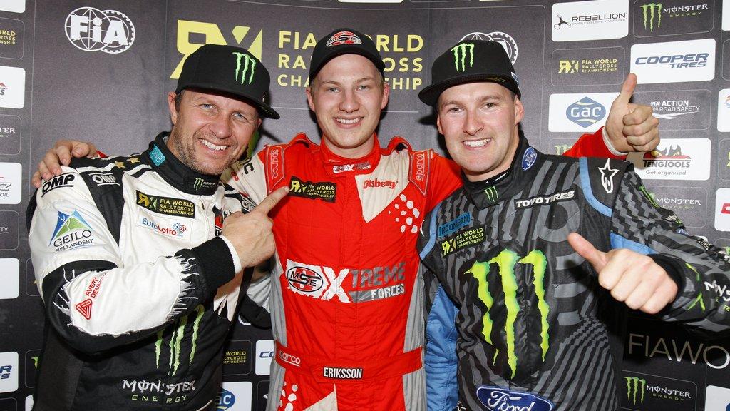 RallyX: Ekstrom crowned new World RX Champion as Eriksson wins German RX