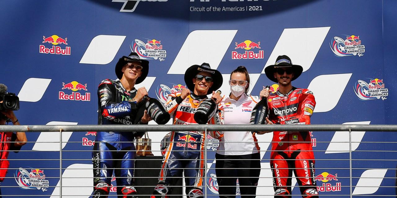 MotoGP: Marquez pulls the pin for magnificent seventh win at COTA