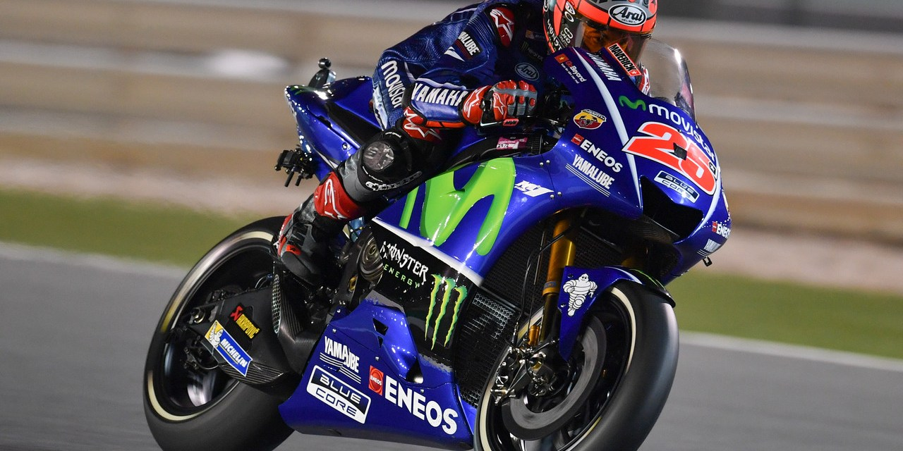 MotoGP: Viñales keeps his view from the top on opening day in Losail
