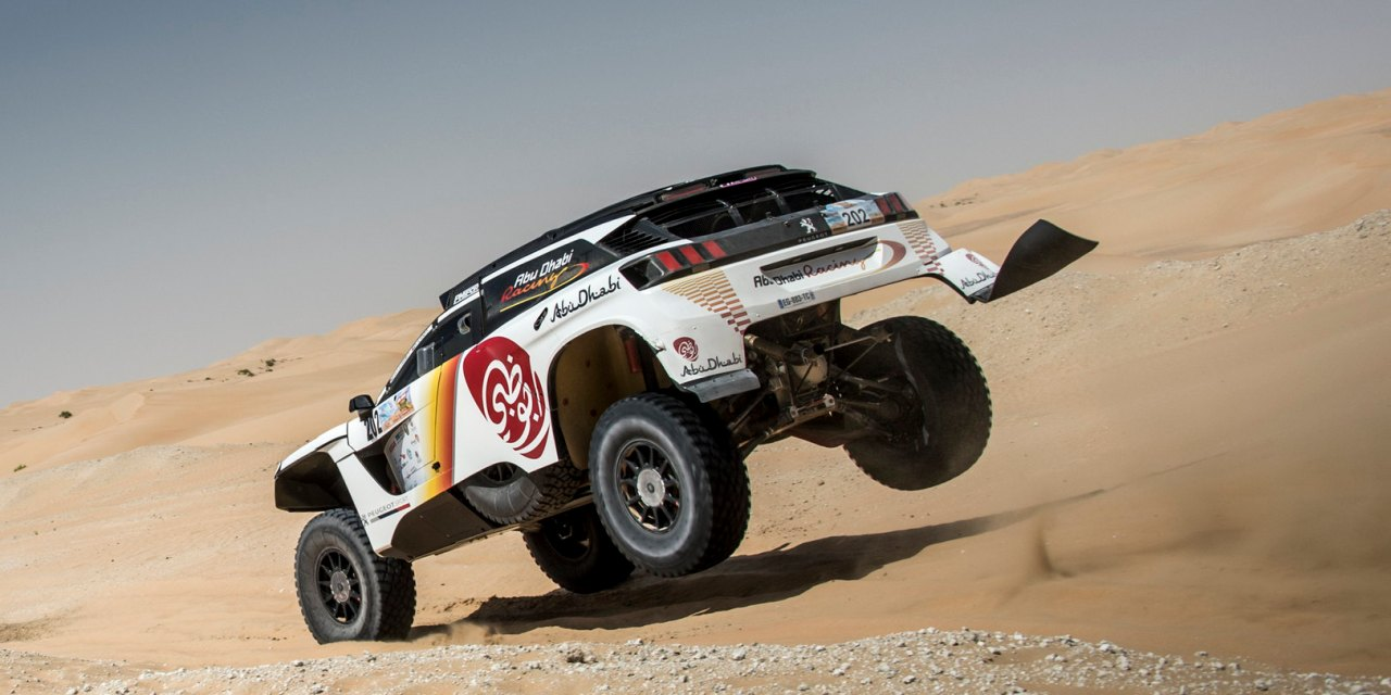 UAE: Al Attiyah and Sunderland continue winning ways on first day of Abu Dhabi Desert Challenge