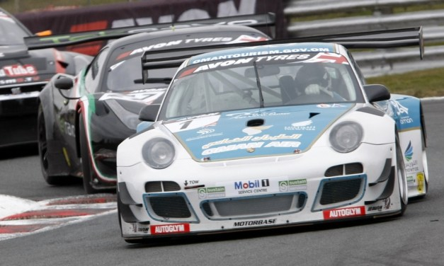British GT: Ahmed Al Harthy in double points in British GT season opener at Oulton Pk