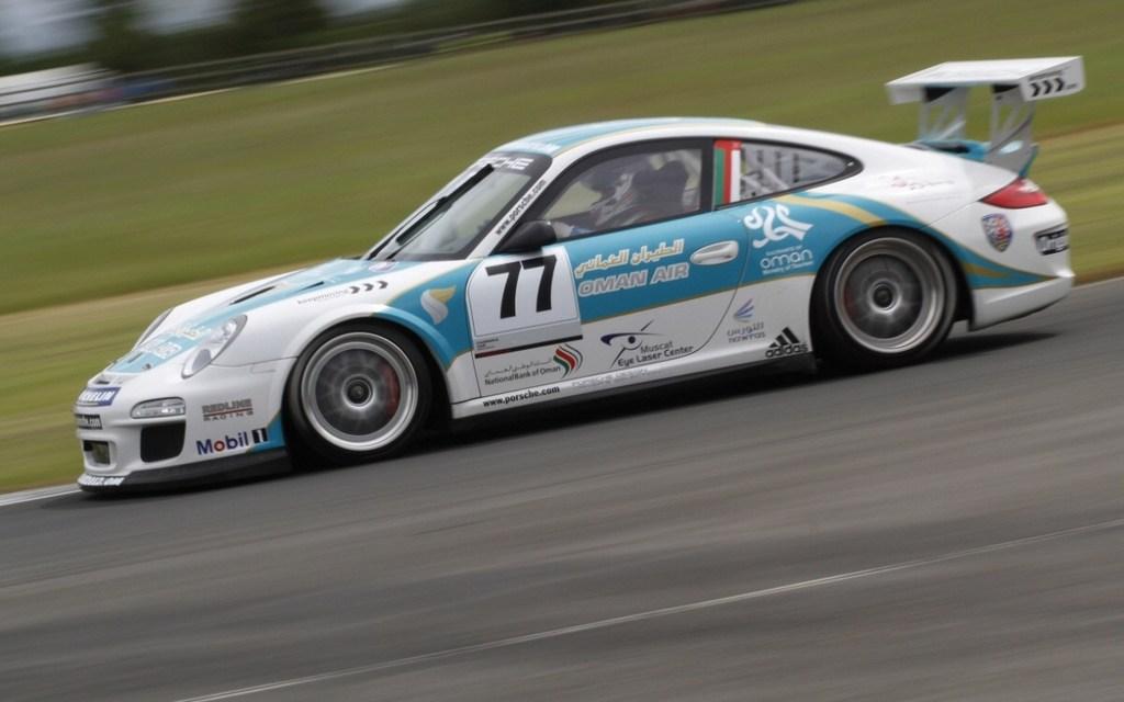 Omani star Ahmed Al Harthy relishing return to Porsche Supercup at Silverstone