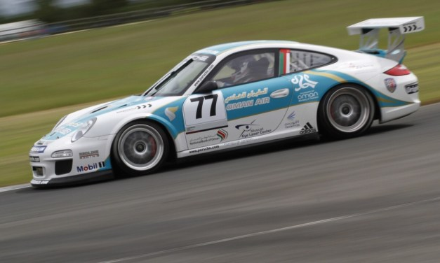 Omani star Ahmed Al Harthy relishing return to Porsche Supercup at Silverstone